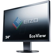 EIZO EV2416W-BK - 61cm - VGA/DVI/DP/USB/Audio - Pivot - schwarz