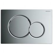 Clapeta actionare Dual-Flush,Geberit Sigma 01,pentru rezervor incastrat,crom lucios -115 770 21 5