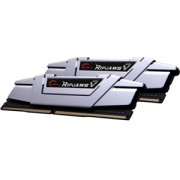 Memorie G.Skill Ripjaws V Radiant Silver 16GB (2x8GB) DDR4 3000MHz CL15 1.35V Intel Z170 Ready XMP 2.0 Dual Channel Kit, F4-3000C15D-16GVS