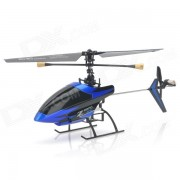SH-6033 Recargable 3.5-CH 2.4GHz Radio control R / C Helicoptero w / Gyro - Azul + Negro