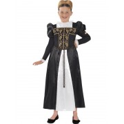 Childs Horrible Histories Mary Queen Of Scots Costume - MEDIUM