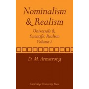 Nominalism and Realism: Nominalism and Realism v. 1 by D. M. Armstrong