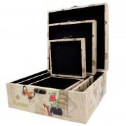 Caixa Decorativa Lady Com 3 R-xxe4074b