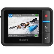 GIn - Removu R1 Monitor Display da Polso Wireless WiFi per GoPro Hero 3, 3+ Plus, 4 Black Silver White Edition