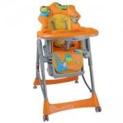 Столче за хранене Babyono 2878/01, Оранжево Дино, 7630045