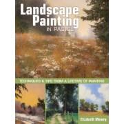 Landscape Painting in Pastel by Elizabeth Mowry