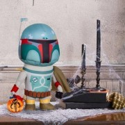 Star Wars Boba Fett With Treat Basket Halloween Greeter; Plush Toy