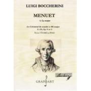 Menuet in La major pentru vioara si pian - Luigi Boccherini