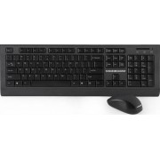 Kit tastatura cu mouse Wireless Modecom MC-6200G Negru