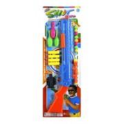 Fusine™ Air Sport Series Rifile Gun 2 in 1 Plastic Round Bullet/Soft Rubber Bullet/Target Shooting/ Bowling Pins Shooting/ Double Mode/ Gun-Long Range/Children Toy Guns/Holiday Gift