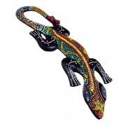 Orientalna jaszczurka Indonezja płaskorzeźba