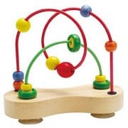 Hape - Double Bubble Wooden Bead Maze
