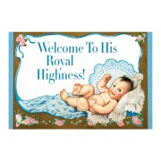 Baby Boy - New Child Greeting Card