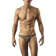 Pikante Mesh G String Underwear Grey 8201
