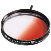 Filtru Hama Gradual Red 58mm