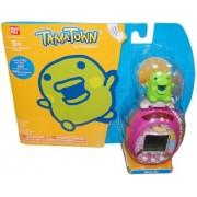 Tamagotchi Tamatown Pink and Green Tama-go with Kuchipatchi Gotchi Figure Charm