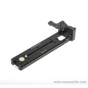 "SUNWAYFOTO Vertical Rail with ""on-end""Clamp DMC-200L"