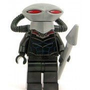 LEGO DC Comics Super Heroes Minifigure - Black Manta with Pike Spear (76027) by LEGO
