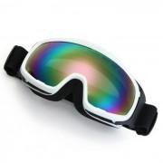 Motocicleta Enduro Casco de la snowboard del esqui de proteccion vidrios de los anteojos