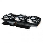 ARCTIC Accelero Xtreme IV - Dissipatore di calore per scheda grafica multicompatibile High-End con radiatore posteriore per un raffreddamento migliore della memoria RAM e del trasformatore di tensione - Ventola per scheda grafica per AMD R9 290, R9 290X e