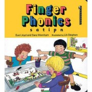 Finger Phonics book 1 by Sara Wernham