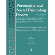 The Dynamic Perspective in Personality and Social Psychology by Robin R. Vallacher