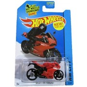 HOT WHEELS HW CITY 2014 RELEASE RED AND BLACK DUCATI 1199 PANIGALE DIE-CAST by Mattel