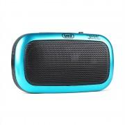 Trevi RS 745 USB Radio portátil, reproductor MP3 FM/AM batería azul