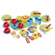 Playgo Pretend & Play TÉ w cuchillería (46 piezas)