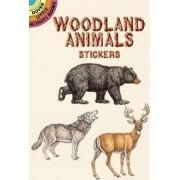 Woodland Animals Stickers by Dianne Gaspas