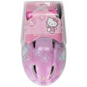 Mondo Spa 18873 Hello Kitty - Set de protecciones para bicicleta (talla M, incluye casco y protectores para rodillas y codos) [importado de Alemania]