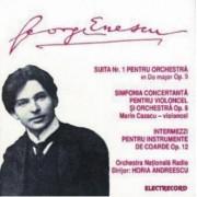 George Enescu - Suita nr 1 pentru orchestra in Do major op 9/ simfonia concertata pentru violoncel si orchestra op 8 (CD)