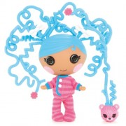 Lalaloopsy - Littles Silly Hair Doll: Bundles Snuggle Stuff muñeca (Bandai 520276)