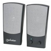 Sistem audio 2.0 Manhattan 4W Black