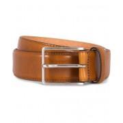 Morris Heritage Leather 3,5 cm Belt Tan