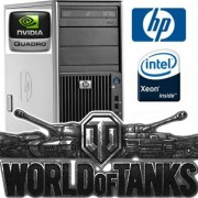 Staţie HP Z400 Gaming PC Intel® Xeon® 16GB 2TB DVD-RW NVIDIA® Quadro® Windows 10