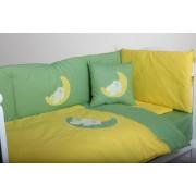 Posteljina sa ogradicom žuta – Na mesecu – Stefan