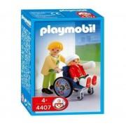 Playmobil 4407 - Maman / Enfant / Fauteuil Roulant