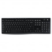 K270 Wireless Keyboard, Usb Unifying Receiver, Black
