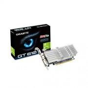 Gigabyte GV-N610SL-1GI Scheda Video, VGA, Blu/Alluminio