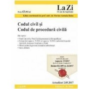 Codul civil si Codul de procedura civila Act. 2.05.2017