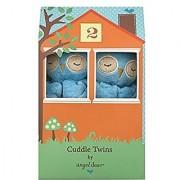 Angel Dear Blue Owl Cuddle Twin Set.