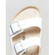 Birkenstock Arizona Sandals in White - White
