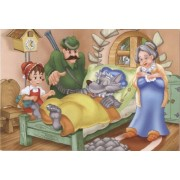 D-Giocattoli Fairytales 2 Super Jigsaw Puzzle (100 Pezzi)