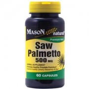 Saw Palmetto 500mg - 60 caps