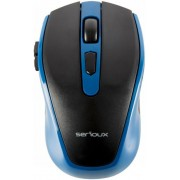 Mouse Wireless Serioux PASTEL 600 (Albastru)