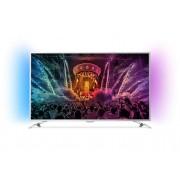 "Телевизор Philips 49"" UHD TV, 49PUS6501/12, DVB-T2/C/S, Android TV, Ambilight 2, Pixel Precise UHD, 1800 PPI, 20W, Silver"