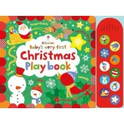 Baby's Very First Touchy-Feely Christmas Play Book by Fiona Watt