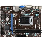 Placa de baza MSI H81M-P33, Intel H81, LGA 1150