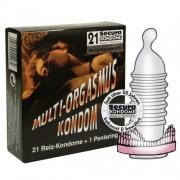 Preservativos Secura Multi-Orgasmus (12 Un) + Anel